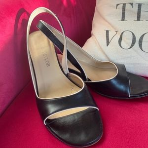 Ann Taylor Peep Toe Pumps